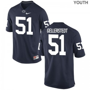 Alex Gellerstedt PSU NCAA Kids Game Jersey - Navy