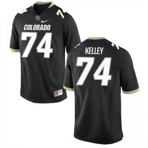 Alex Kelley Colorado Buffaloes NCAA Mens Game Jerseys - Black