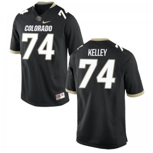 Alex Kelley Colorado Buffaloes College Youth(Kids) Limited Jersey - Black