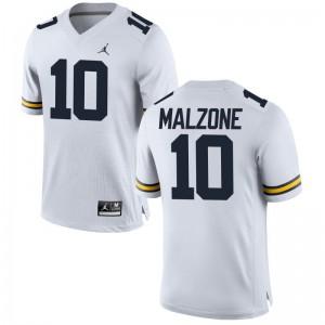 Alex Malzone University of Michigan Alumni Youth(Kids) Game Jersey - Jordan White