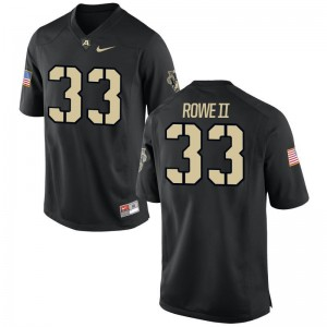 Alex Rowe II United States Military Academy High School For Men Game Jersey - Black