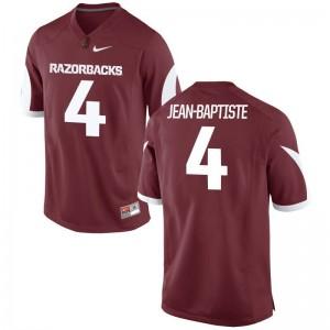 Alexy Jean-Baptiste Razorbacks Player Men Game Jersey - Cardinal