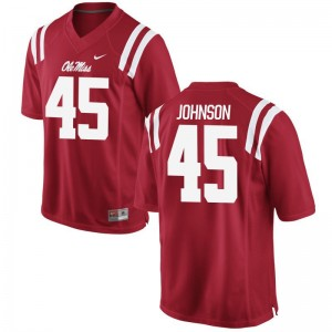 Amani Johnson Ole Miss Alumni For Men Game Jerseys - Red