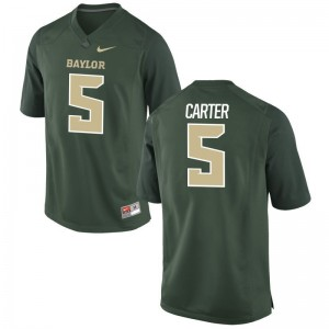 Amari Carter Miami Alumni Men Game Jersey - Green