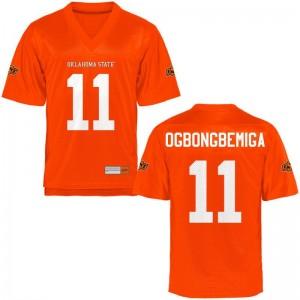 Amen Ogbongbemiga OSU Cowboys College Mens Game Jersey - Orange