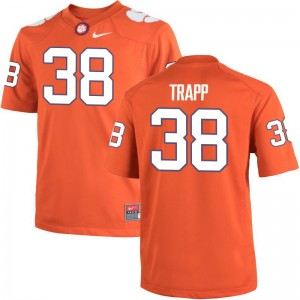 Amir Trapp Clemson University High School Men Game Jerseys - Orange