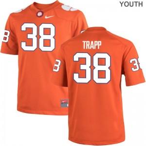 Amir Trapp Clemson Tigers Alumni Youth(Kids) Game Jersey - Orange