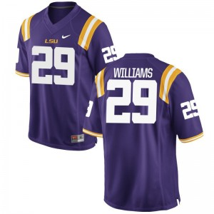 Andraez Williams LSU Tigers High School Men Game Jersey - Purple