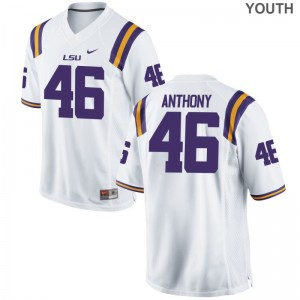 Andre Anthony LSU Alumni For Kids Limited Jersey - White