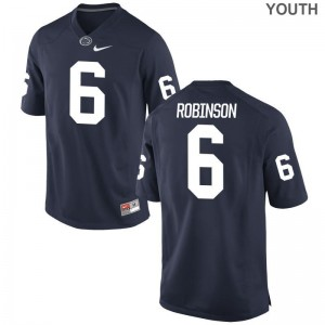 Andre Robinson Penn State Nittany Lions University Youth Game Jersey - Navy