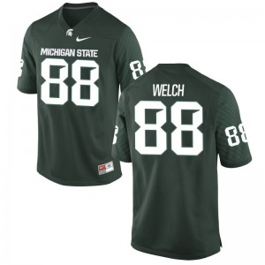 Andre Welch Michigan State Spartans Alumni For Men Game Jerseys - Green