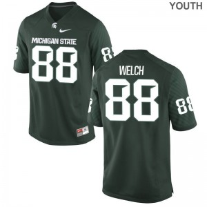 Andre Welch Michigan State Spartans High School Youth Limited Jersey - Green