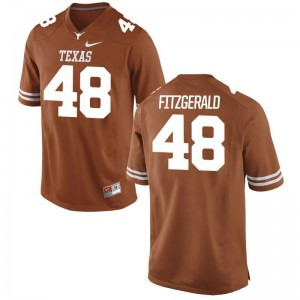 Andrew Fitzgerald Longhorns College Men Game Jerseys - Orange