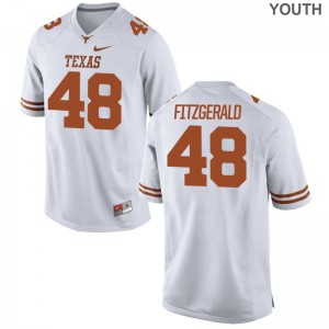 Andrew Fitzgerald UT Official Kids Game Jersey - White