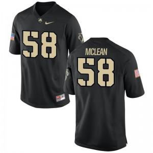 Andrew McLean USMA High School Men Limited Jerseys - Black