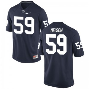 Andrew Nelson Penn State University Mens Game Jerseys - Navy