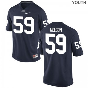 Andrew Nelson Penn State Nittany Lions Football For Kids Game Jerseys - Navy