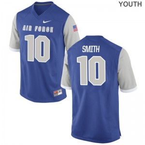 Andrew Smith Air Force Academy University Youth Game Jerseys - Royal