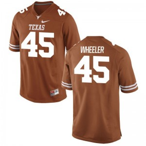 Anthony Wheeler University of Texas NCAA Men Game Jerseys - Orange