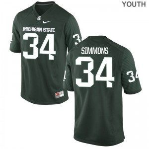 Antjuan Simmons Michigan State University Official Kids Game Jerseys - Green