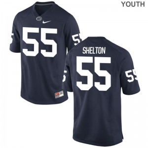 Antonio Shelton PSU Football Youth Limited Jerseys - Navy