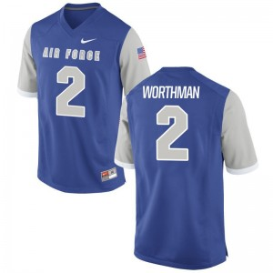 Arion Worthman USAFA College Men Game Jersey - Royal