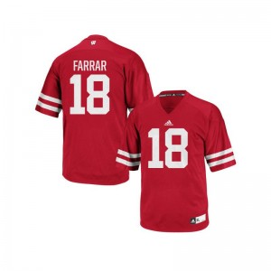 Arrington Farrar UW University For Men Authentic Jersey - Red