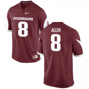 Austin Allen Arkansas University Mens Game Jersey - Cardinal
