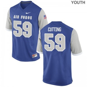 Austin Cutting USAFA Football Youth Game Jerseys - Royal