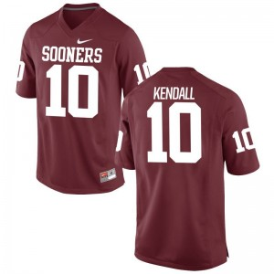Austin Kendall OU Official Mens Limited Jerseys - Crimson