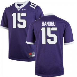 Ben Banogu Texas Christian University Football Mens Game Jerseys - Purple