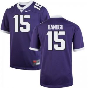 Ben Banogu Horned Frogs University Men Limited Jerseys - Purple