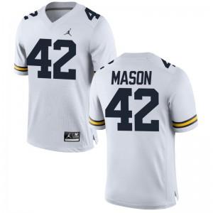 Ben Mason Michigan High School For Men Limited Jerseys - Jordan White