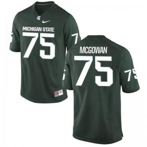 Benny McGowan MSU High School Men Limited Jersey - Green