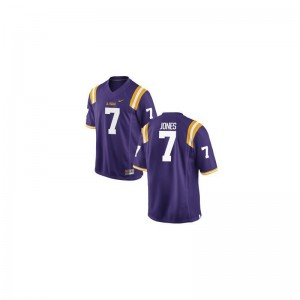 Bert Jones LSU Alumni Men Game Jerseys - Purple