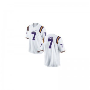 Bert Jones Louisiana State Tigers Player Mens Game Jersey - White
