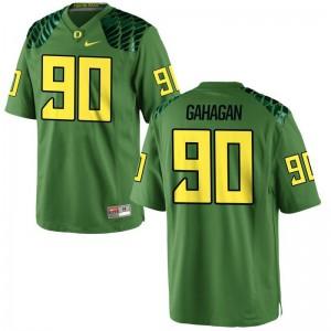 Brandon Gahagan University of Oregon Football For Men Game Jersey - Apple Green