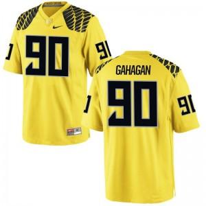 Brandon Gahagan UO High School Men Game Jersey - Gold