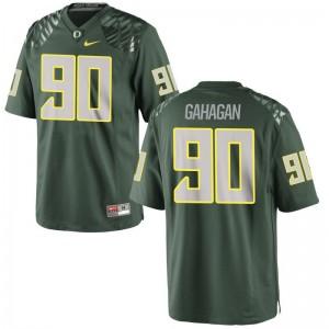 Brandon Gahagan Ducks High School Youth(Kids) Game Jersey - Green