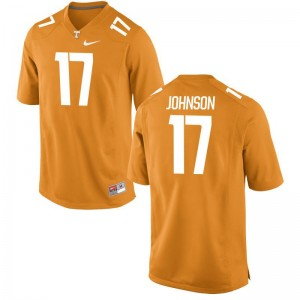 Brandon Johnson Tennessee Volunteers High School Men Limited Jerseys - Orange