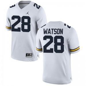 Brandon Watson Wolverines University For Men Limited Jerseys - Jordan White