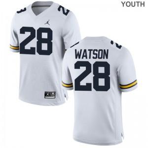 Brandon Watson Michigan Alumni Kids Game Jerseys - Jordan White