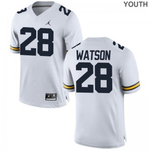Brandon Watson Michigan Wolverines Player For Kids Limited Jerseys - Jordan White
