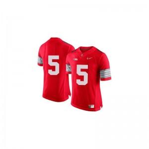 Braxton Miller Ohio State Buckeyes Player Youth(Kids) Game Jersey - Red Diamond Quest Patch