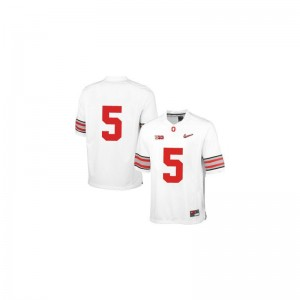 Braxton Miller Ohio State Alumni For Kids Game Jersey - White Diamond Quest Patch