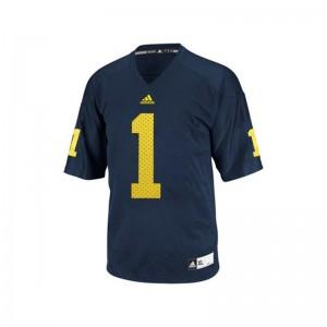 Braylon Edwards Michigan University Men Limited Jersey - Blue