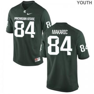 Brock Makaric Michigan State University For Kids Limited Jerseys - Green