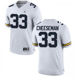 Camaron Cheeseman Michigan Alumni Men Limited Jerseys - Jordan White