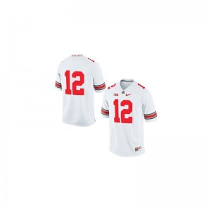 Cardale Jones Ohio State University Youth Game Jersey - White