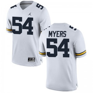 Carl Myers University of Michigan Official For Men Limited Jersey - Jordan White